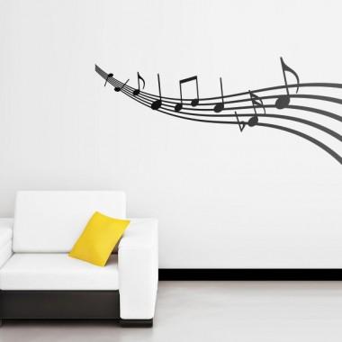 vinilos imagen producto Al son de la melodia-vinilos baratos