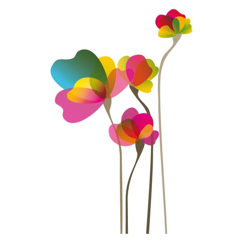 vinilo flor para cristal decoraci n