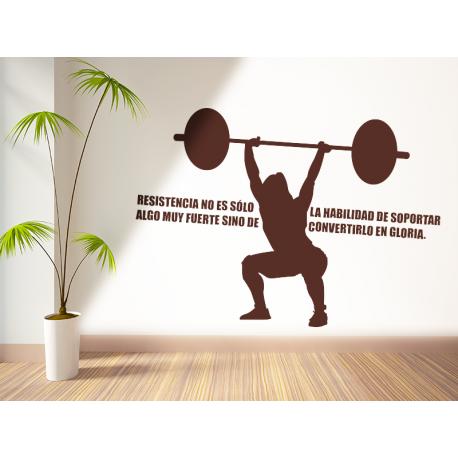 CrossFit 06 imagen vinilo decorativo