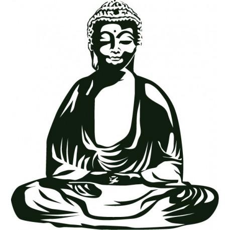 Buda II para Pared imagen vinilo decorativo