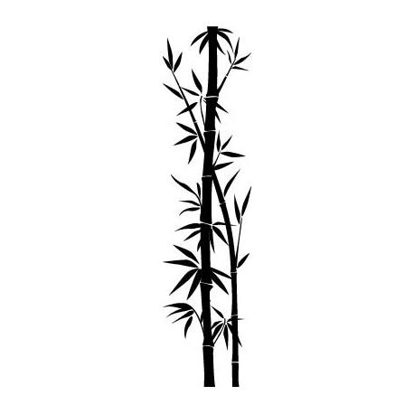 adhesivo decorativo Bambú Decoración para Pared