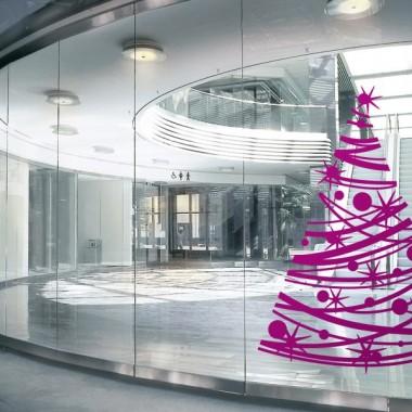 Árbol de Navidad IV imagen vinilo decorativo