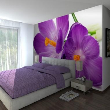 Fotomural Flores Malvas imagen vinilo decorativo