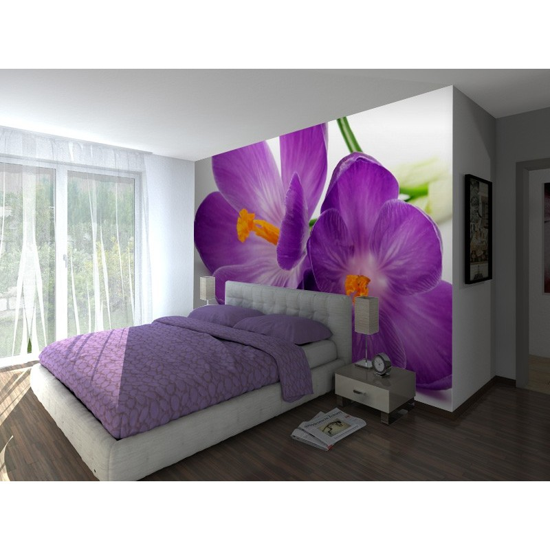 Fotomural flores malva - Vinilos para electrodomesticos ...