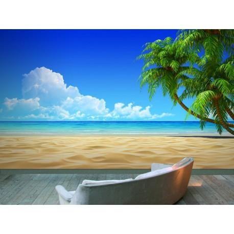 vista fotomural Fotomural Caribe
