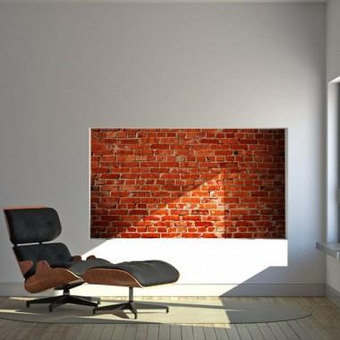 mural pared Fotomural Ladrillos Rojos