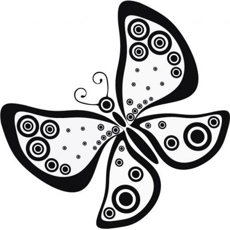 Mariposa Fantasy adhesivo decorativo ambiente