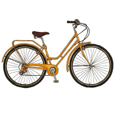Bicicleta para Pared decoración con vinilo