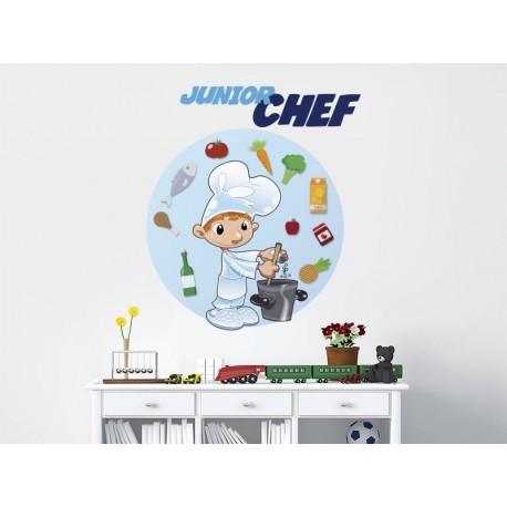 pegatina decorativa Mario el Cocinero