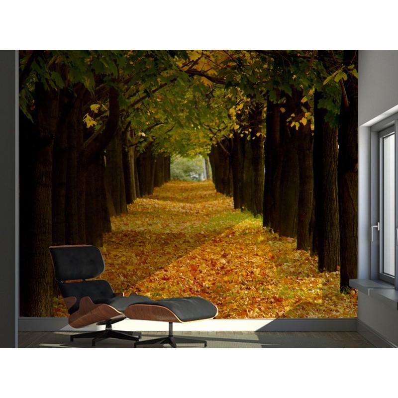 Fotomural paisaje oto o for Vinilos murales paisajes