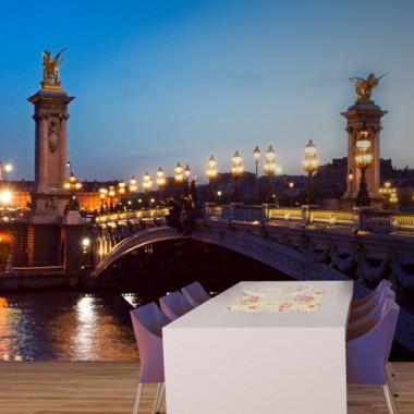Fotomural Paisaje Urbano Puente decoración con vinilo