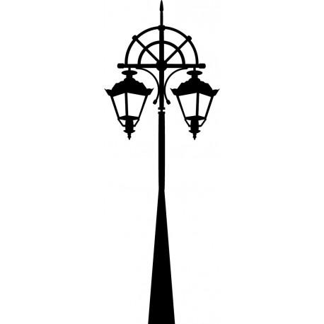 Farola Londres imagen vinilo decorativo