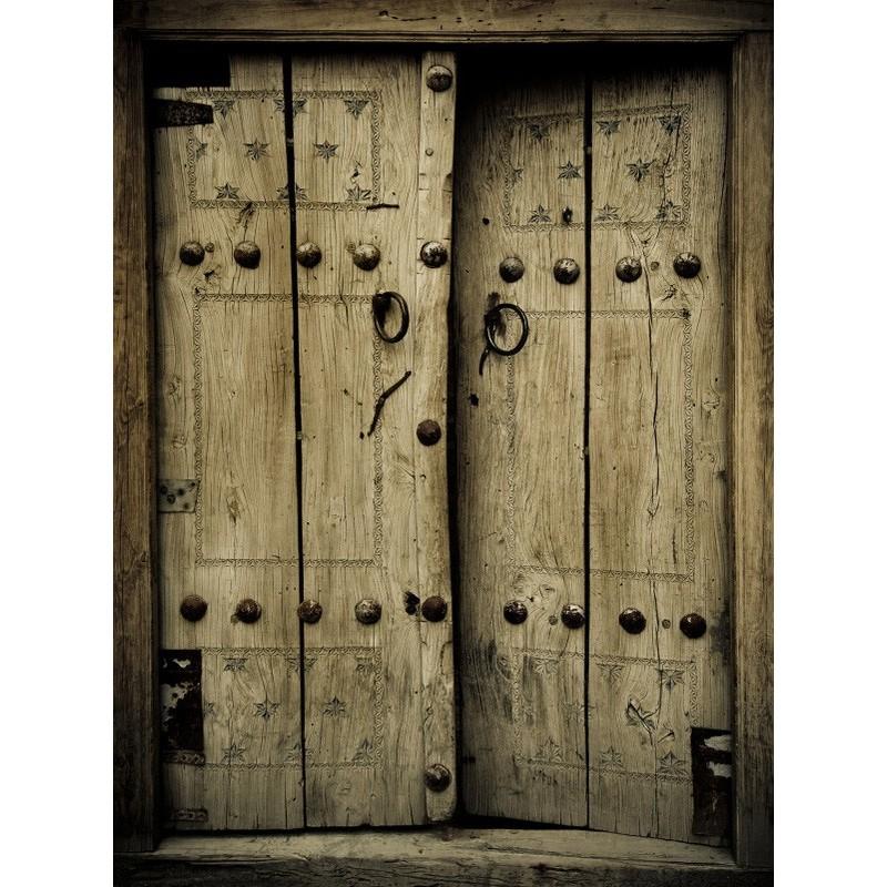 Fotomural puerta r stica - Fotomural para puertas ...
