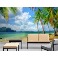 Fotomural Playa Caribe II