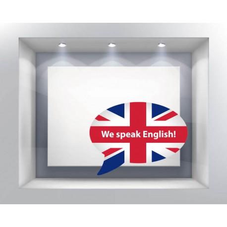 ambiente vinilo we speak english