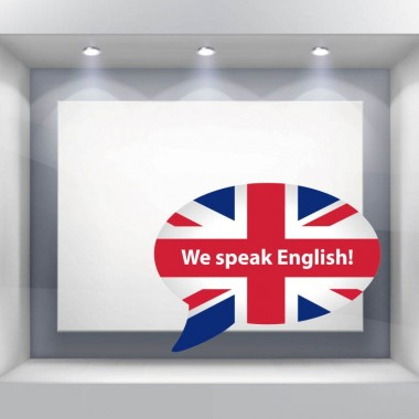 ambiente vinilo we speak english