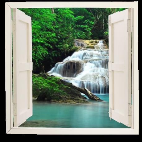pegatina ventana con paisaje ven05