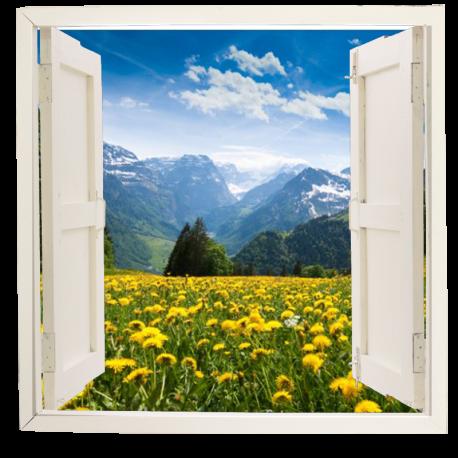 ventana adhesiva paisaje ven09