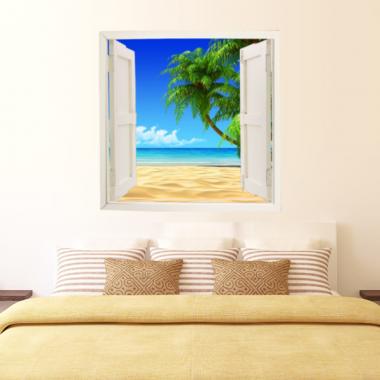 ventana adhesiva paisaje ven10