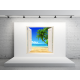 pegatina paisaje con ventana ven10