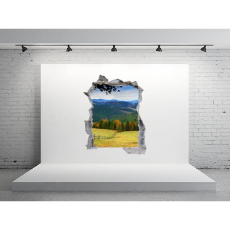 agujero paisaje en vinilo hol04