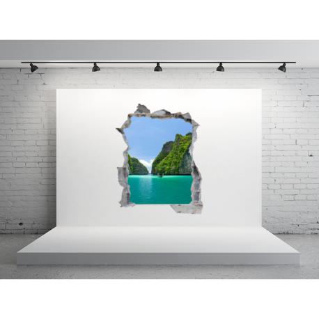 agujero paisaje en vinilo hol05
