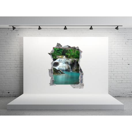 agujero paisaje en vinilo hol06