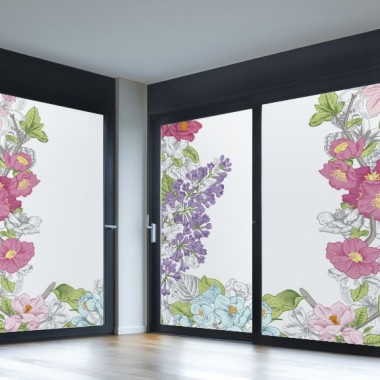 vinilo-para-cristal-con-flores