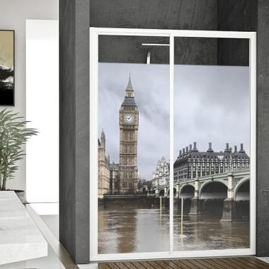 vinilo para ventanas Vinilo Translúcido Londres