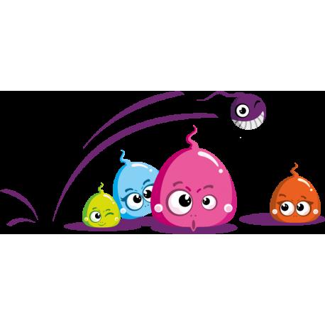 vinilo-infantil-monstruos