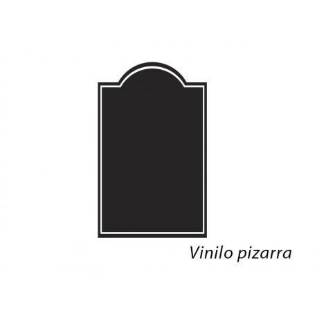 pizarra negra vintage