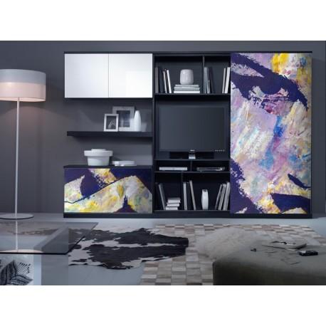 Fotomural Óleo Pop Art adhesivo decorativo ambiente