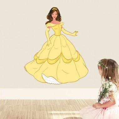 vinilo infantil princesa bella imagen producto