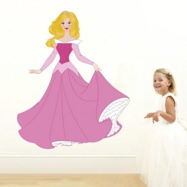 vinilo infantil princesa aurora