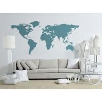 Vinilos mapas stica vinilos decorativos for Vinilo mapa del mundo