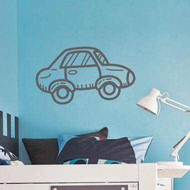 pegatina decorativa coche mot280 imagen ambiente