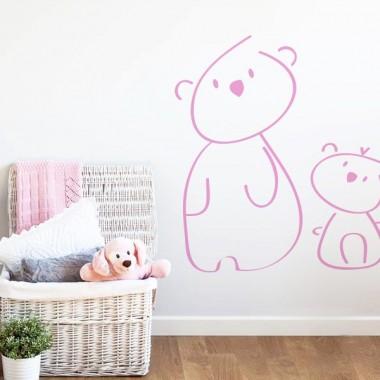 pegatina decorativa infantil ambiente producto mot459