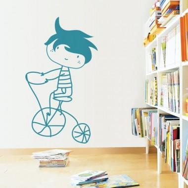 Niño con Bicicleta producto vinilos