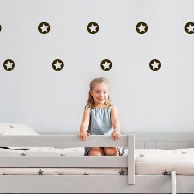 adhesivo decorativo Circulo y Estrella
