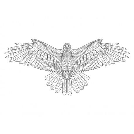 vinilo decorativo mandala aguila imagen producto