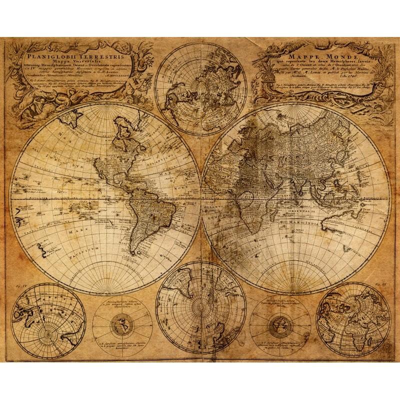 Fotomural mapa mundi - Papel pintado mapamundi ...