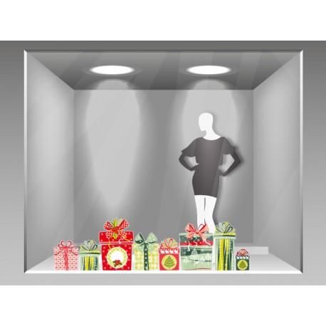 vinilos de navidad para escaparates producto es 161