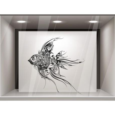 pegatina decorativa pez
