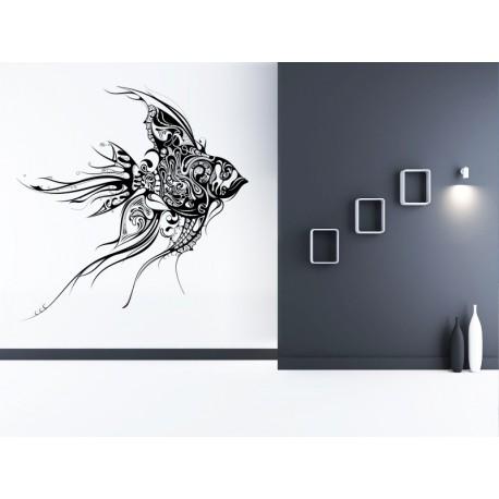 vinilo pared pez fantasia