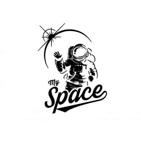vinilo de astronauta