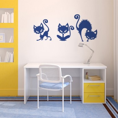Gatos decoración