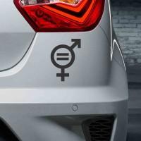 Igualdad de géneros icono