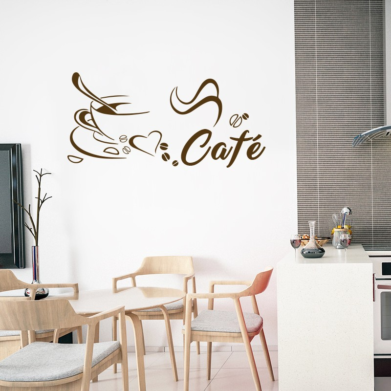 Vinilo caf motivo for Vinilos para piezas