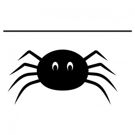 adhesivo decorativo araña patitas