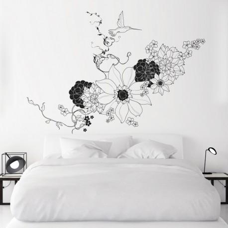 pegatina decorativa para dormitorio